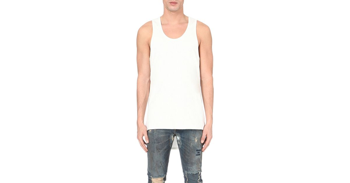 b82857b8b36356 Fear Of God Fourth Collection Cotton Tank Top in White for Men - Lyst