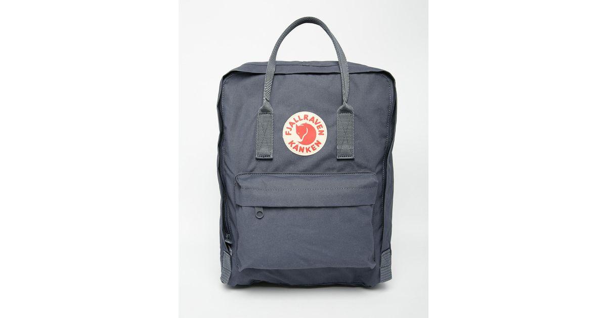 fjallraven kanken classic backpack graphite