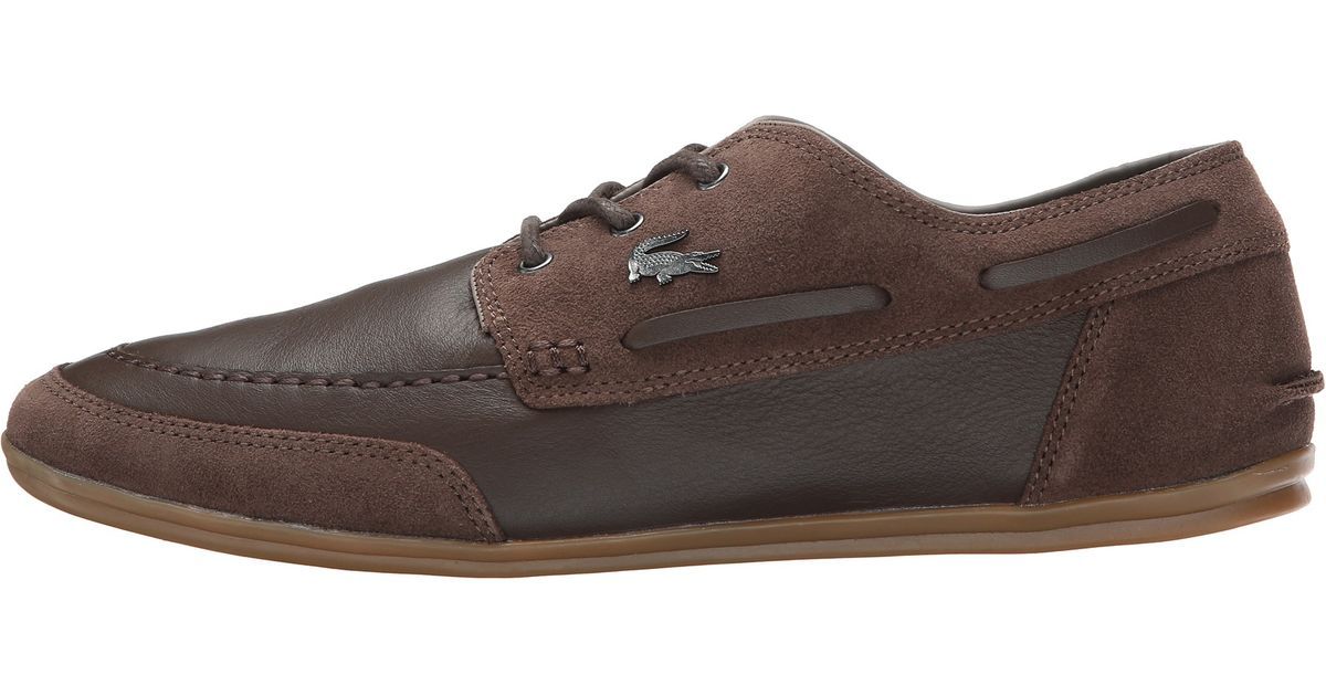 c565b724e1d3 Lyst - Lacoste Misano Boat 6 in Brown for Men