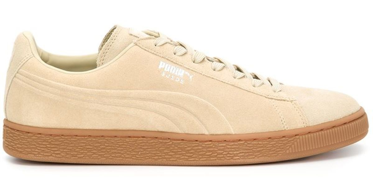 6ccd6c562d PUMA 'classic' Sneakers in Natural - Lyst