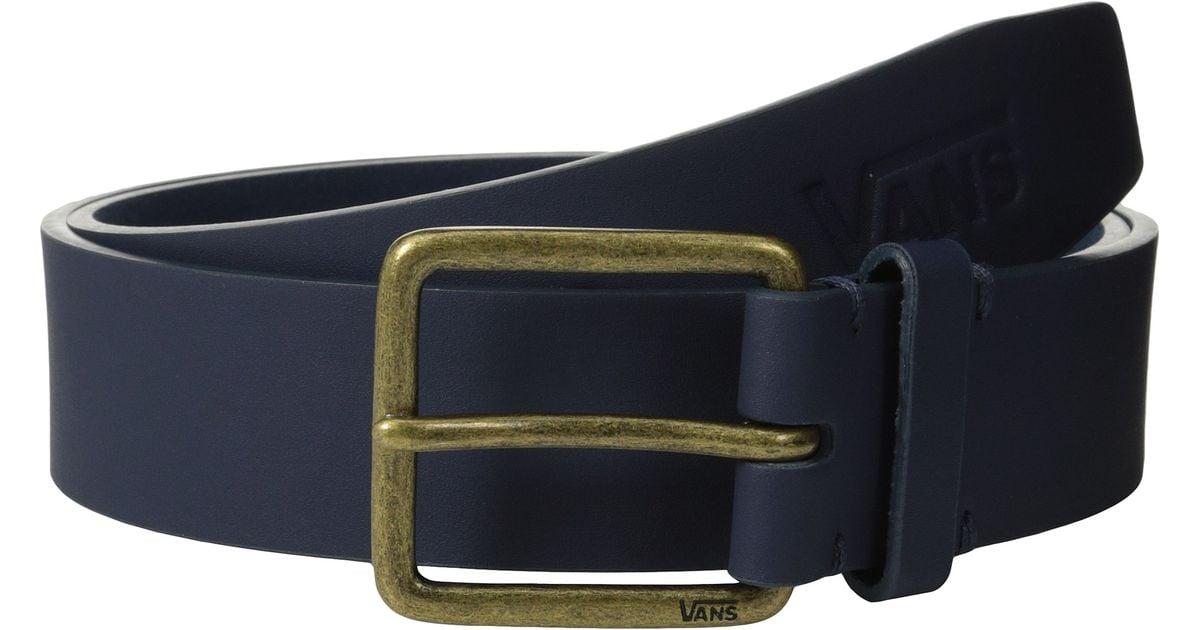 214a6087fc Lyst - Vans Hunter Pu Belt in Black for Men