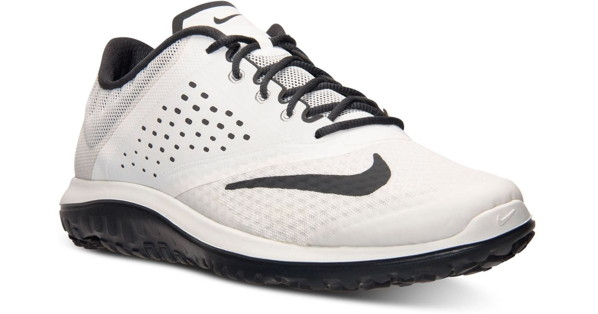a94c4e8c1de0 Lyst - Nike Men S Fs Lite Run 2 Running Sneakers From Finish Line in Black  for Men