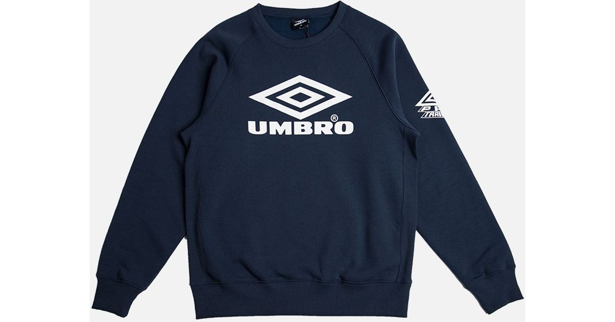 Lyst Umbro Classic Crew Sweatshirt Navy In Blue For Men