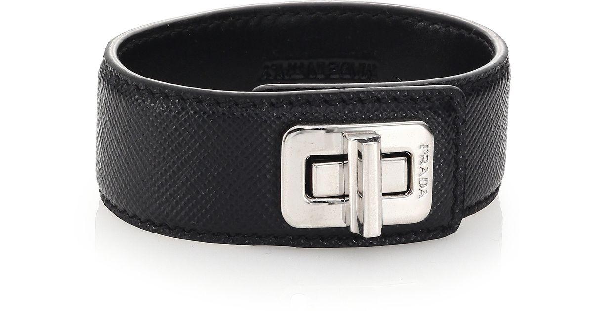 Prada Leather bracelet 6RMwb
