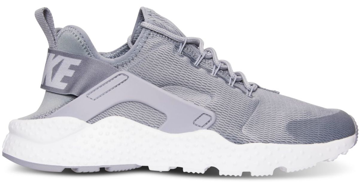 brand new 6199b 7ae66 ... lyst nike womens air huarache run ultra running sneakers from finish  line in gray
