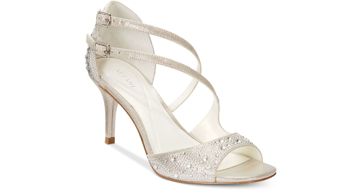 Alfani Only At Macy S In Silver Save 13 Lyst