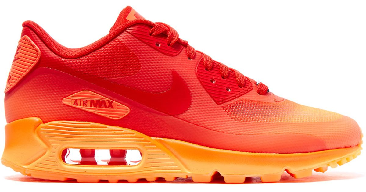 8a49d04812ce Lyst - Nike Red Milan Air Max 90 Sweets Trainers in Red