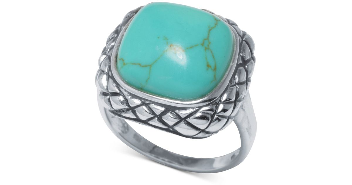 Sterling Silver Turquoise Ring Macy