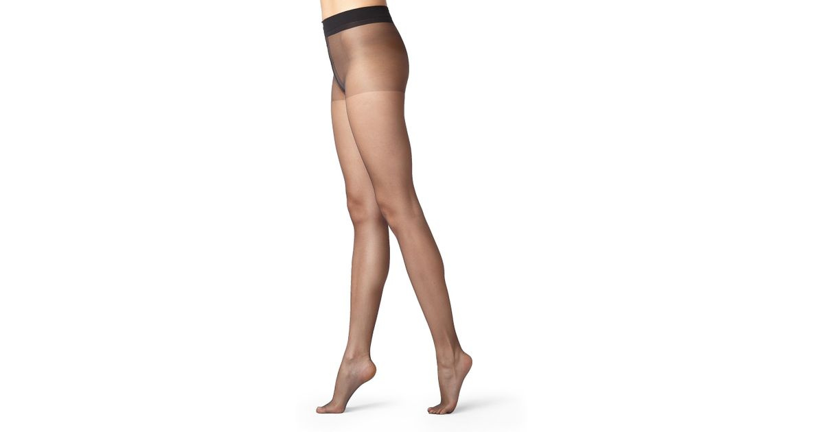 bced6d424 Calzedonia 8 Denier Ultra Sheer Shaping Tights With Control Top in Black -  Lyst