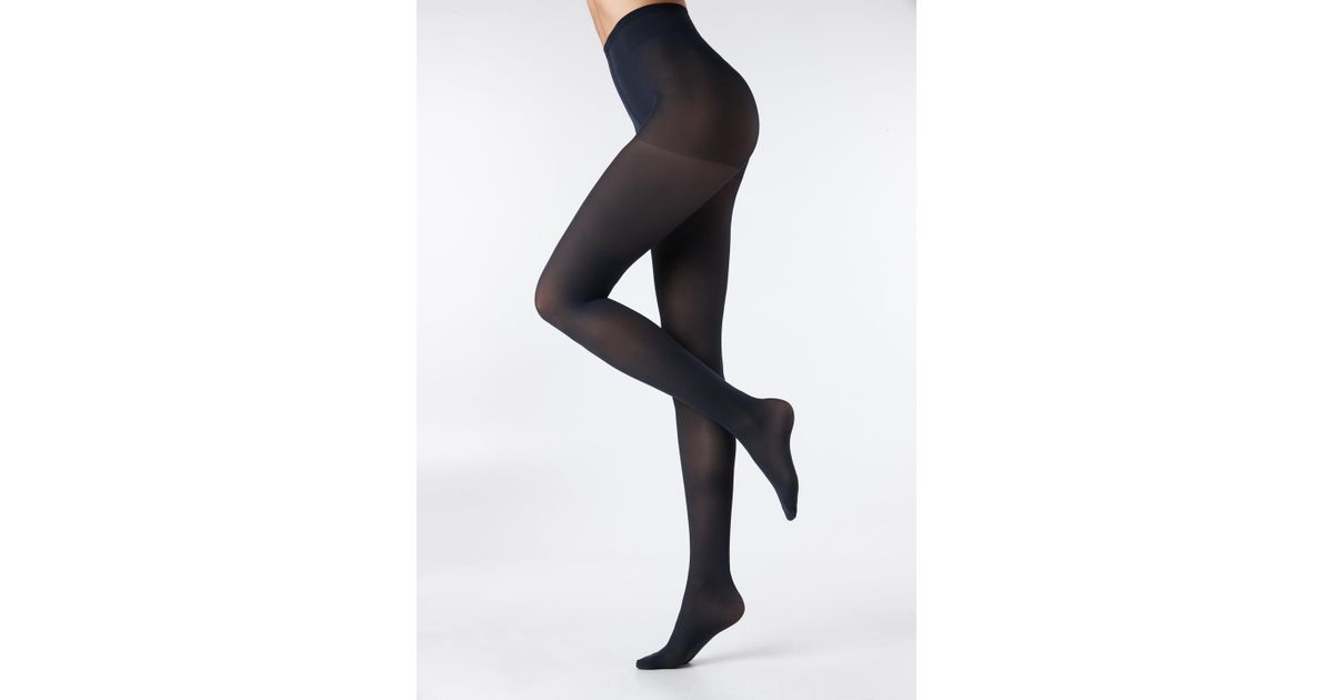 2a0e441a19a68 Calzedonia 40 Denier Action Tights Strong in Blue - Lyst