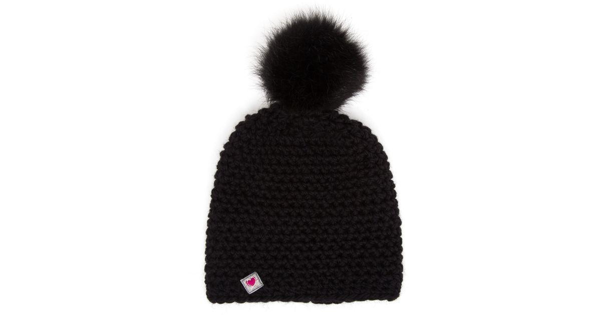 Canada Goose hats replica price - Frauenschuh Mina Merino Wool Beanie in Black (YELLOW)   Lyst
