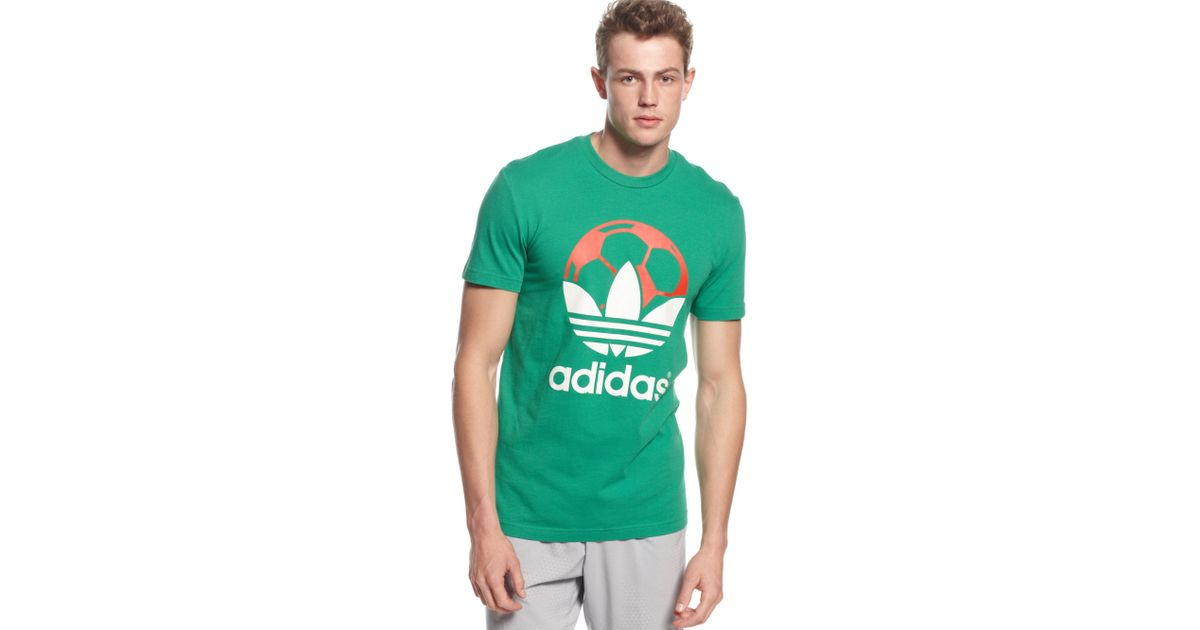 new styles 93382 70360 Lyst - adidas Originals Country Tshirt Mexico in Green for Men