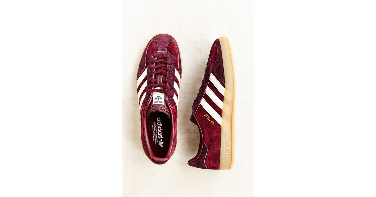uk availability 63db5 fbd28 Lyst - adidas Originals Gazelle Gum-Sole Indoor Sneaker in P