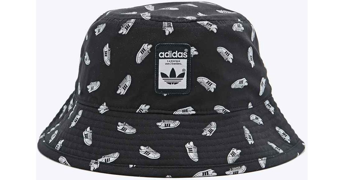5f997ef953f adidas Superstar Bucket Hat in Black for Men - Lyst
