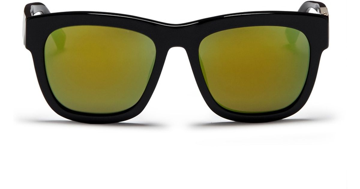 948fd4aaa89 Lyst - 3.1 Phillip Lim X Linda Farrow Acetate Mirror Sunglasses in Black