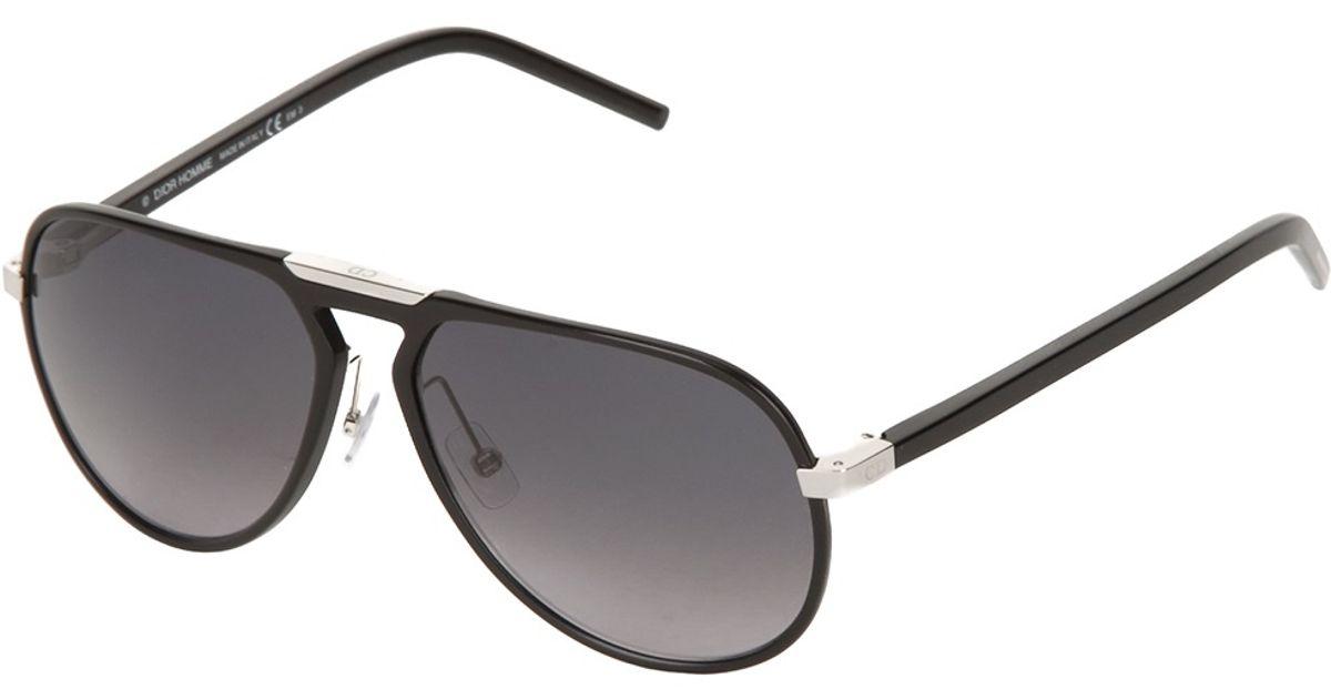 ca97fe86e1a72 Dior - Aviator Sunglasses - Men - Aluminium - One Size in Black for Men -  Lyst