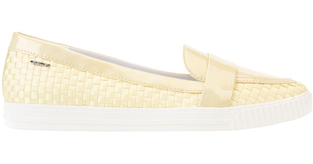 Geox Amalthia Slip On Loafers, Yellow at John Lewis & Partners