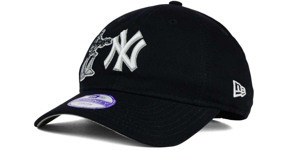 6a7e16244e Lyst - KTZ Boys  New York Yankees Star Wars 9twenty Cap in Black for Men