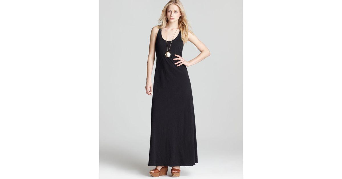 Black racerback dress maxie