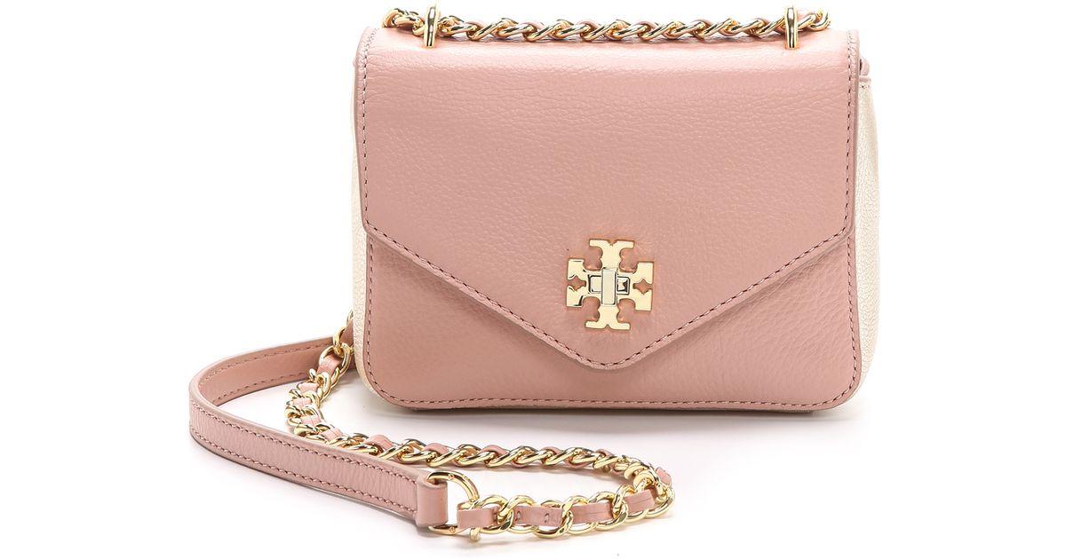 5419bb034c26 ... hot lyst tory burch kira mini chain bag indian rose champagne gold in  pink f6fdb 714a3