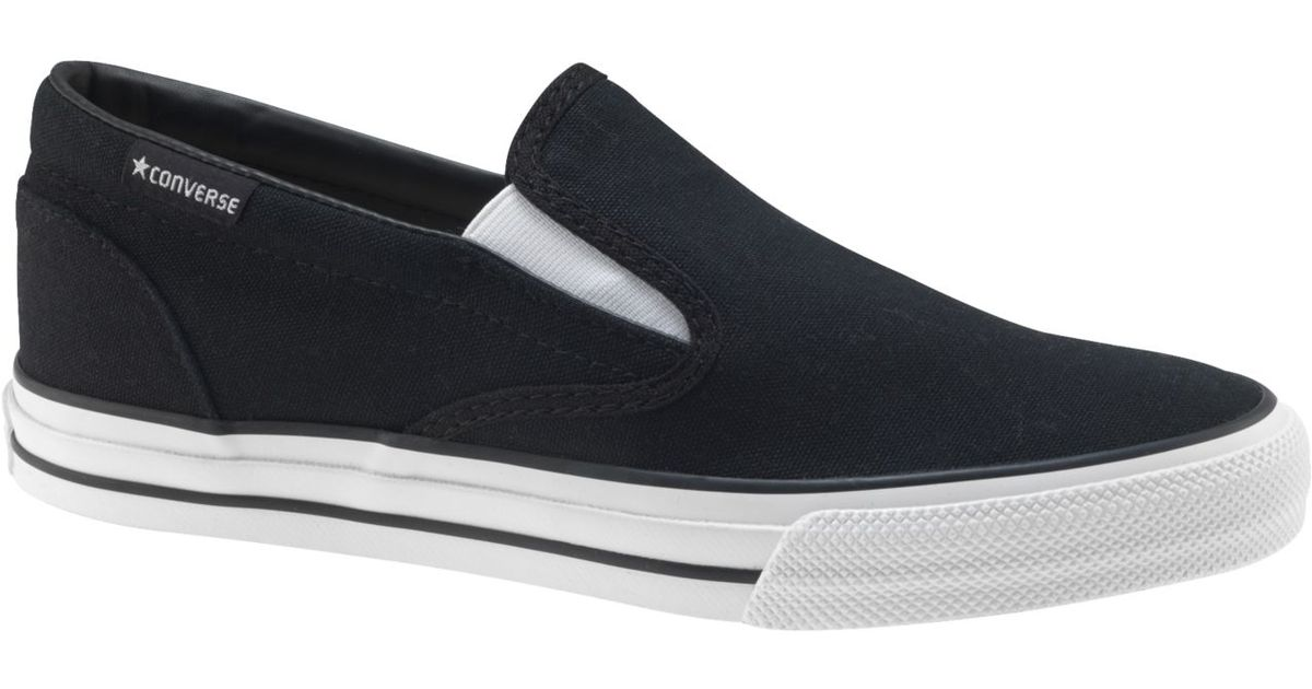 986b04a0b3a179 ... coupon code for lyst converse mens skid grip slip on sneakers from  finish line in black