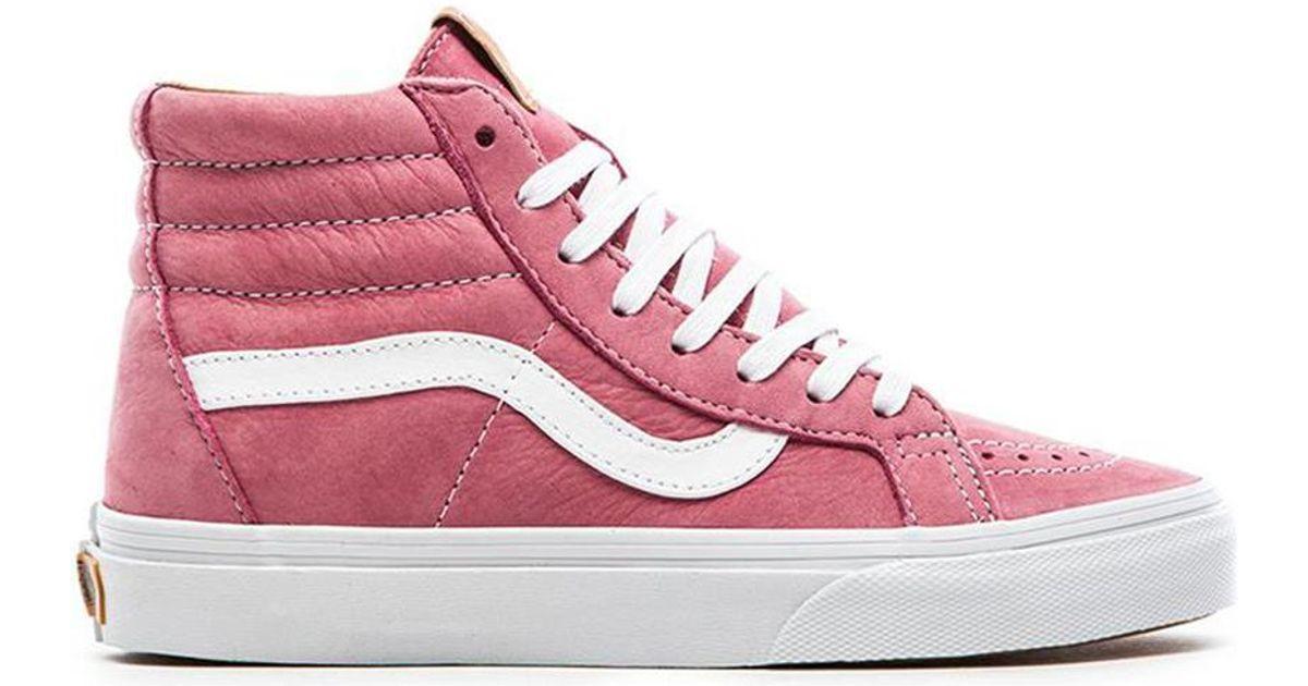 3b323987fba8 Lyst - Vans Sk8-Hi Reissue Ca Sneaker in Pink