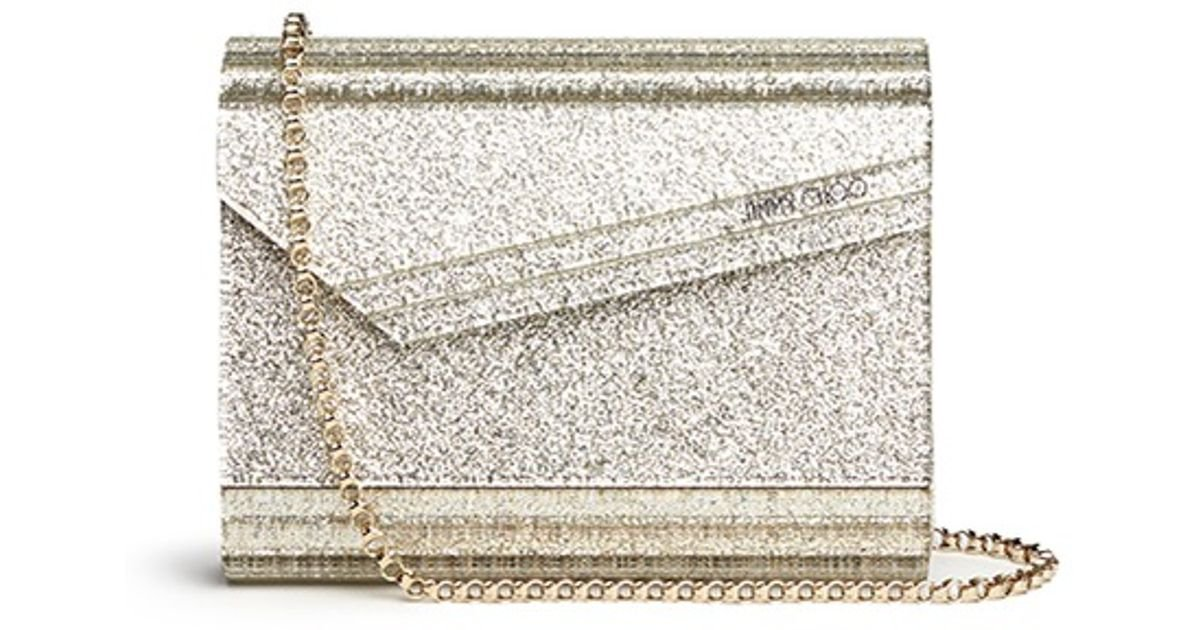 100% Guaranteed Shop For For Sale Jimmy Choo metallic Candy glitter envelope clutch Cheap Sale Fake New Arrival Cheap From China PnHdcu99xt