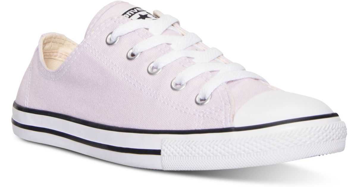 Lyst   Converse Women s Chuck Taylor Dainty Casual Sneakers From Finish  Line in Purple