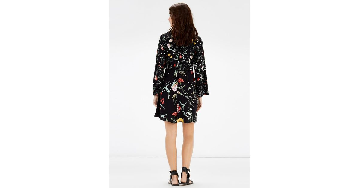 8924cf92d3607 Warehouse Scatter Floral Dress - Lyst