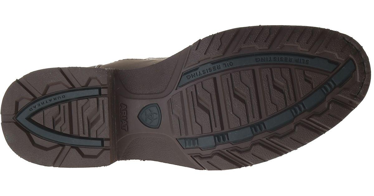8553fa7ba0e Ariat - Brown Hybrid Rancher Steel Toe for Men - Lyst