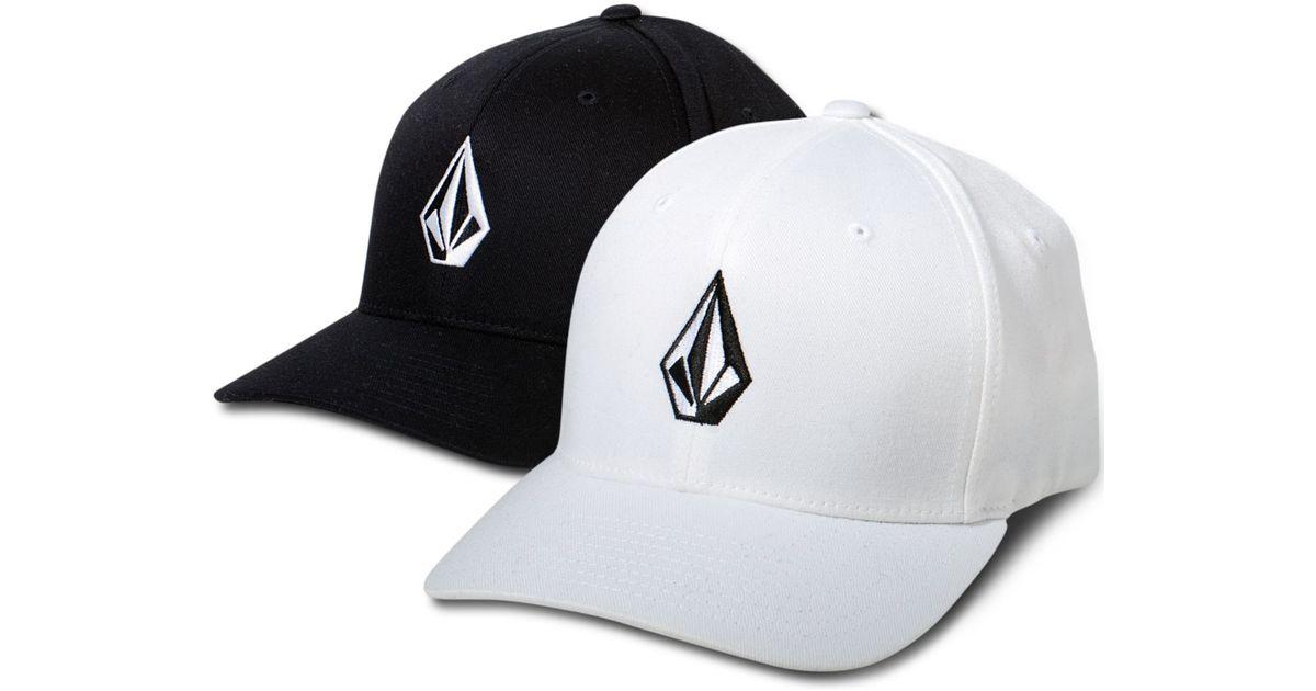 a9cdabeb20db2 Lyst - Volcom Full Stone Flexfit Hat in Black for Men