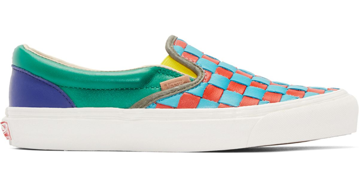 delicate colors a few days away purchase cheap Vans Multicolor 50th Og Classic Slip-on Lx Sneakers for men
