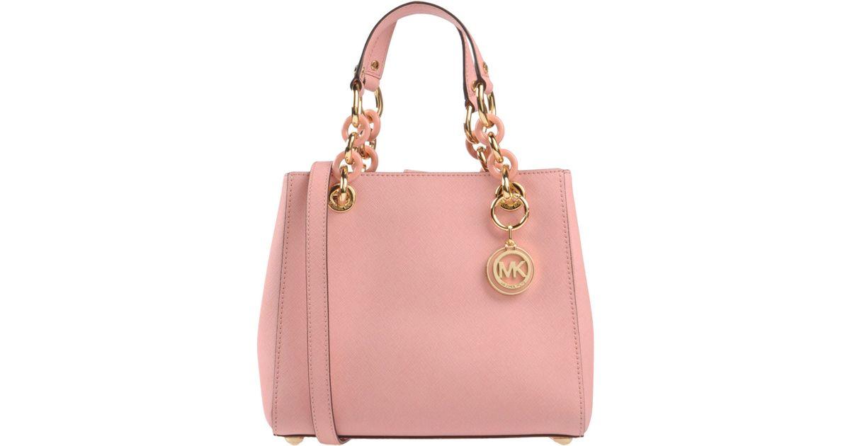 michael michael kors handbag in pink lyst. Black Bedroom Furniture Sets. Home Design Ideas