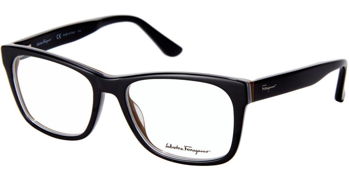 Lyst - Ferragamo Sf2693 Square Frames for Men