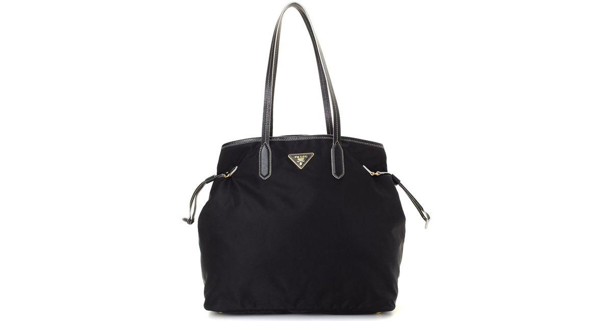 80308fcada7f Lyst - Prada Tessuto Tote Bag - Vintage in Black