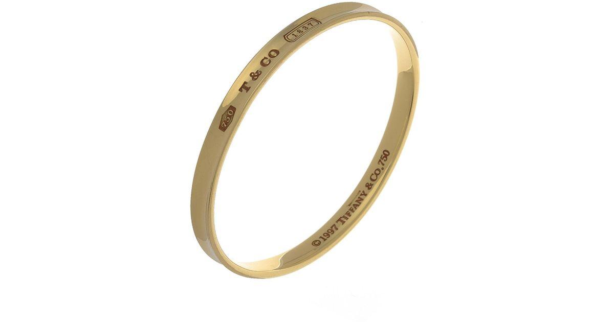 b4438e1b7 ... silver bracelet 21 · tiffany 1837 interlocking circles bangle · image  is loading tiffany amp co ...