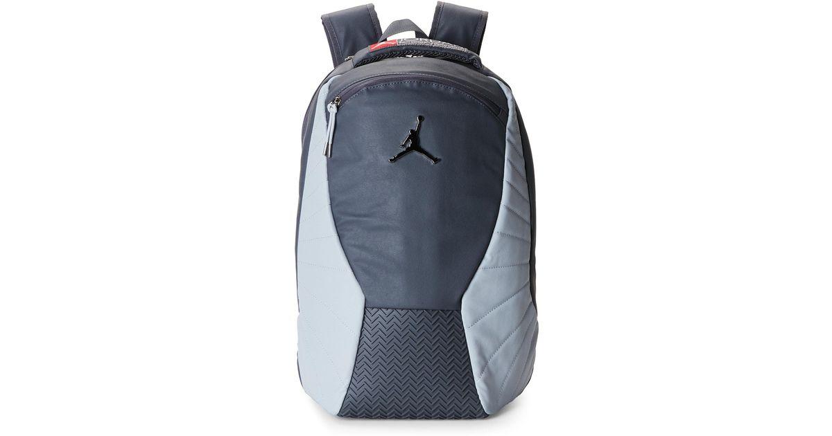 72e2d34b89b6 Lyst - Nike Dark Grey Jordan Retro Backpack in Gray for Men
