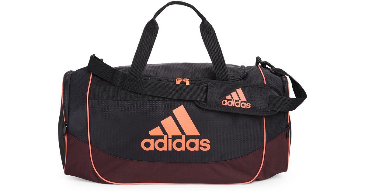 afe5a7735624 Lyst - adidas Originals Black   Neon Orange Defense Medium Duffel Bag in  Orange for Men