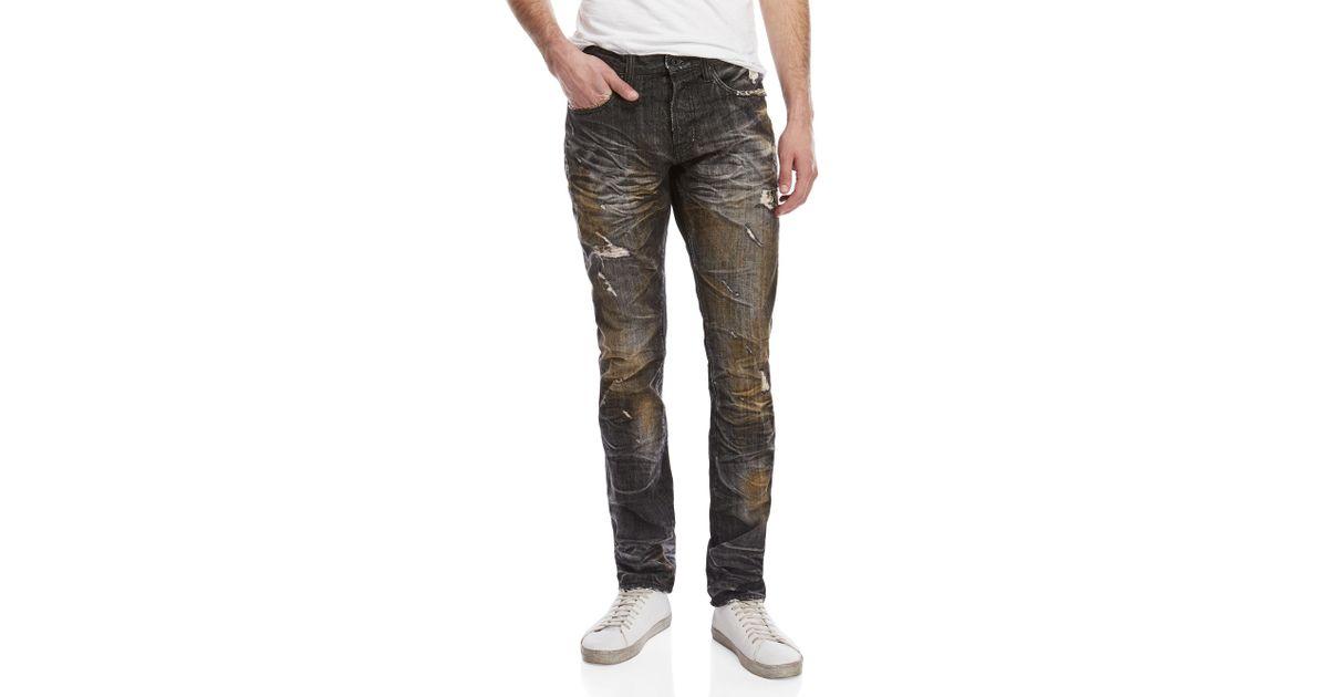 83d0ecce68c Lyst - PRPS Agreement Demon Slim Fit Jeans in Black for Men