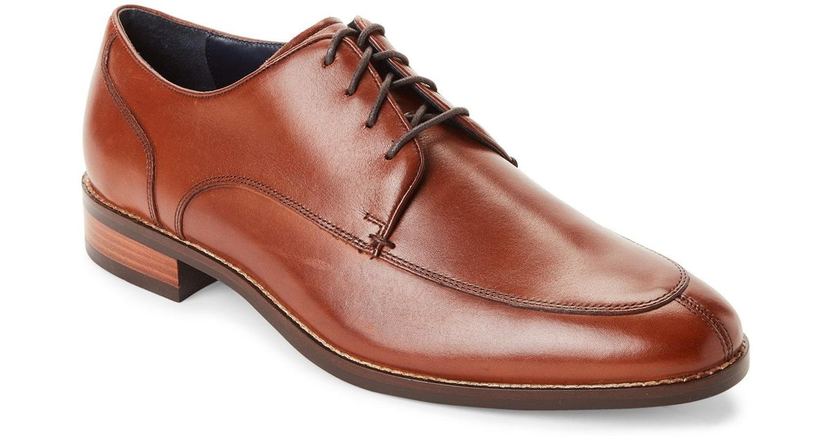 a621bf390c7 Lyst - Cole Haan British Tan Lenox Hill Split Toe Oxfords in Brown for Men