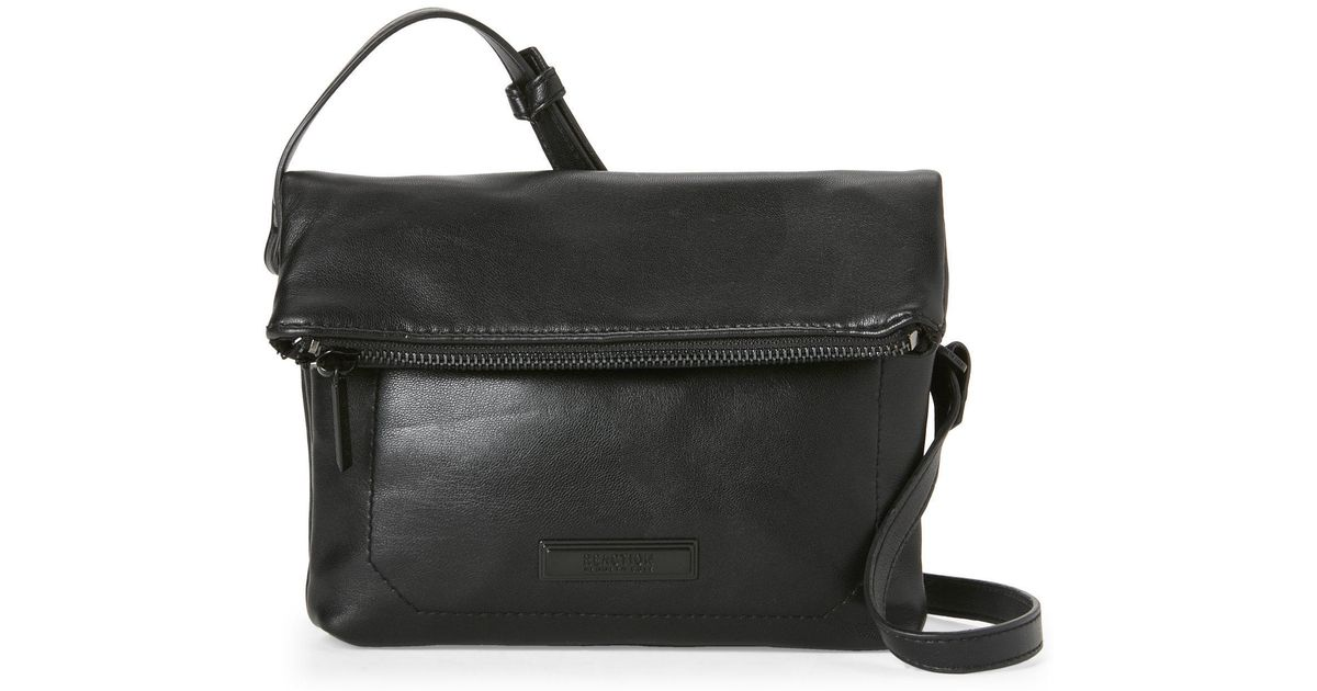 be049bf125 Lyst - Kenneth Cole Reaction Black Gretchen Mini Crossbody in Black