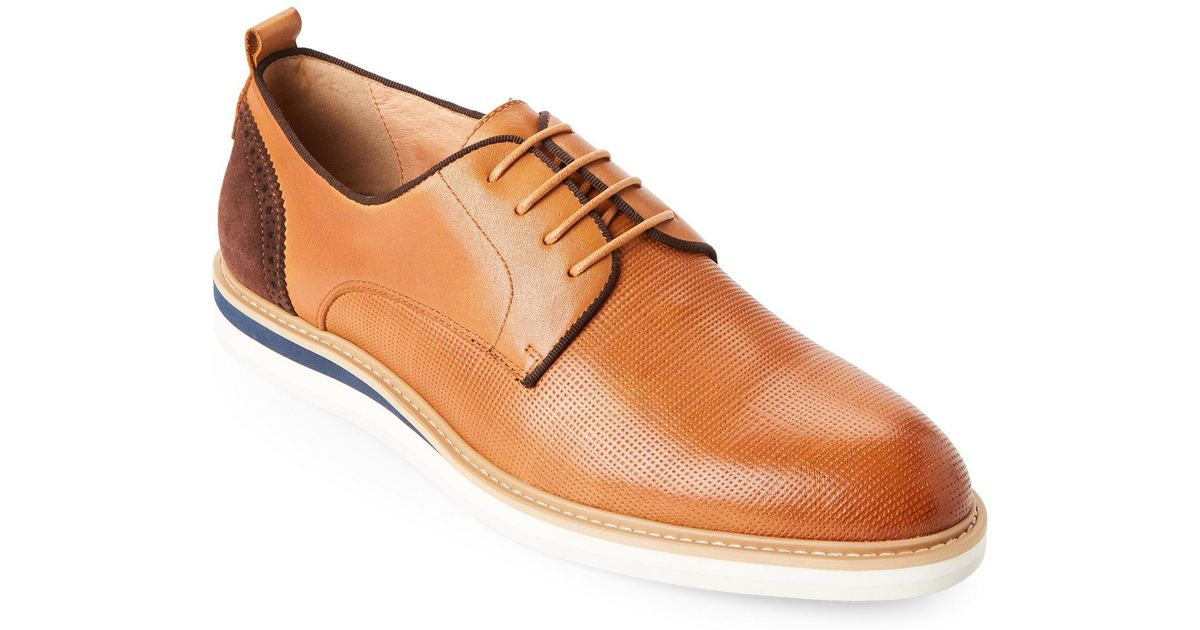 Zanzara Men's Hartung Perforated Plain Toe Derby SxRuFs