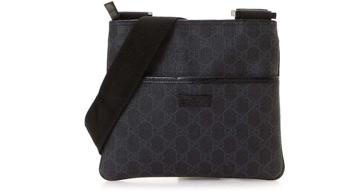 1b89343df801b Lyst - Gucci Crossbody - Vintage in Black