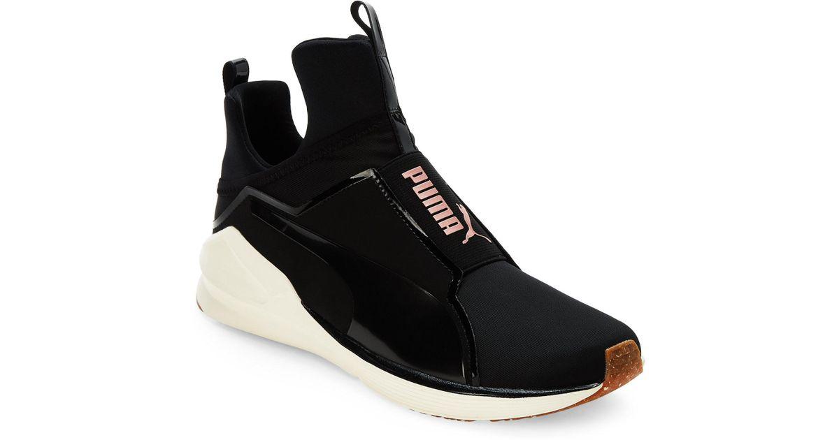 PUMA - Black   Rose Gold Fierce Vr Training Sneakers - Lyst a954926ca