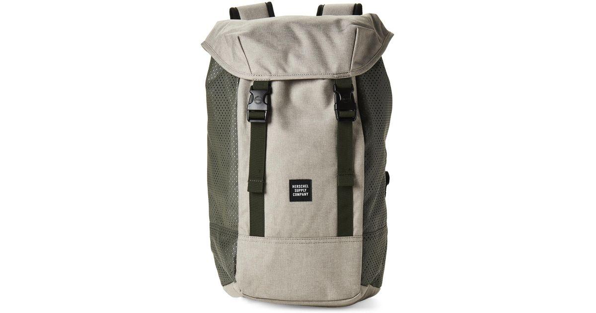 2fd6b8c2ab Lyst - Herschel Supply Co. Light Khaki Iona Aspect Laptop Backpack for Men