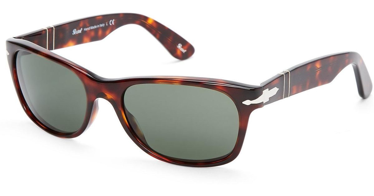 bf0bc580b Persol 2953-S Havana Wayfarer Sunglasses in Brown - Lyst