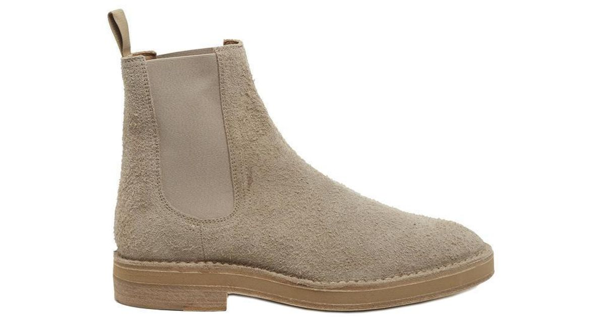 fefbf73055216 Lyst - Yeezy Classic Chelsea Boots in Natural
