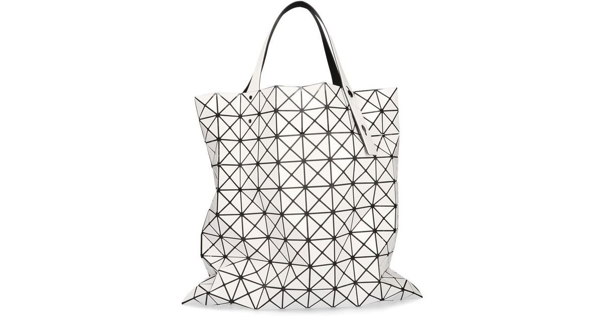 Lyst - Bao Bao Issey Miyake Prism Tote Bag in White 5d22ce3aa1da6