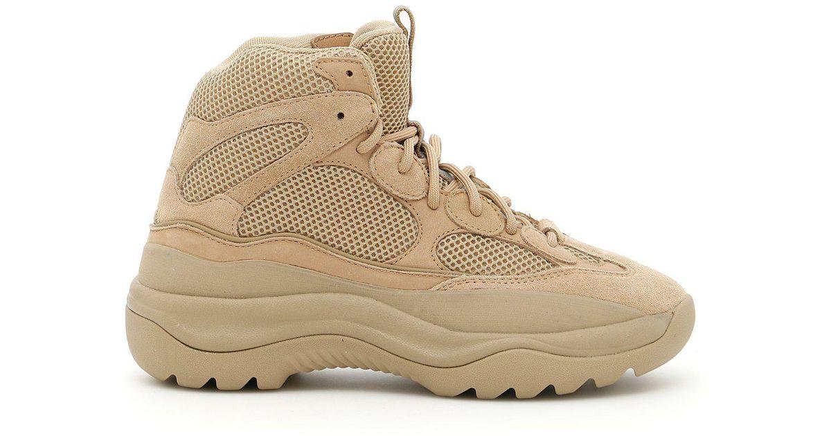 77d8c56b420 Lyst - Yeezy Season 6 Desert Rat Boots in Natural for Men