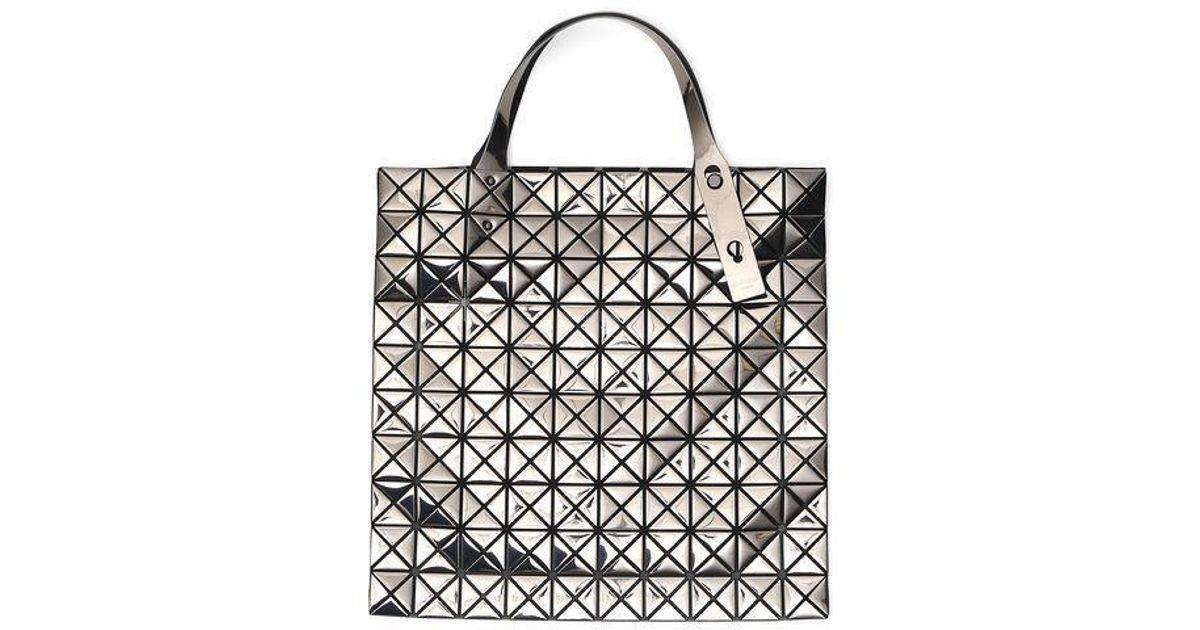 Lyst - Bao Bao Issey Miyake Prism Metallic Shopping Tote in Metallic f6796cfb291b4